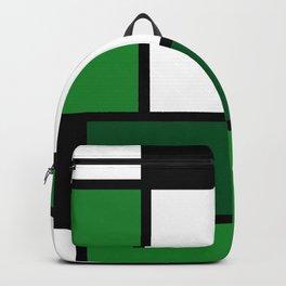 Green Mondrian Backpack