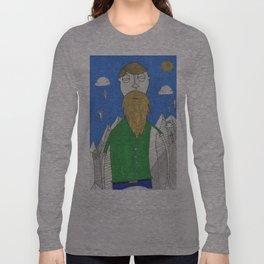 The Mountain Man Long Sleeve T-shirt