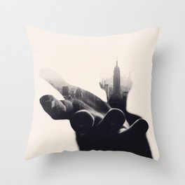 Sheltered Dreams Throw Pillow