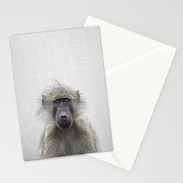 Baboon - Colorful Stationery Cards