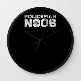 Street Warden Training Gamer Gift Wall Clock