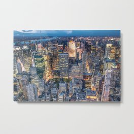 NEW YORK CITY XXIV Metal Print