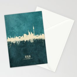 Berlin Germany Skyline Stationery Cards