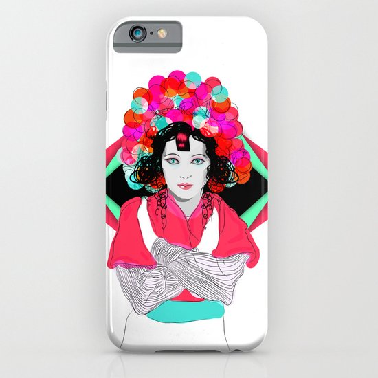 Anna May iPhone & iPod Case