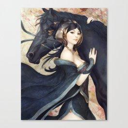 Pepper Empress Canvas Print
