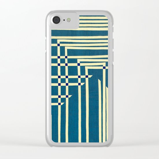 Circuit Board Clear iPhone Case
