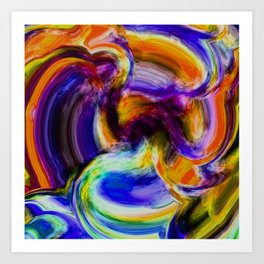 Abstract Dream Art Print