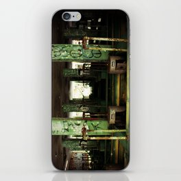 oil refinery iPhone Skin