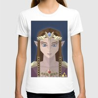 hyrule T-shirts featuring The Princess of Hyrule by John Mehrkens