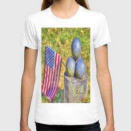American Civil War Cannon Balls Art T-shirt