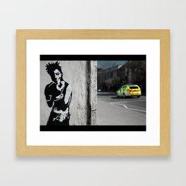 Box Clever Framed Art Print