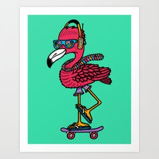 Party Pushin' Art Print