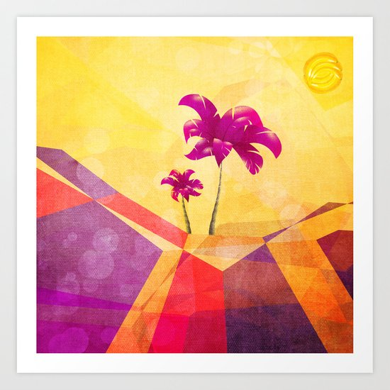 The dream island Art Print