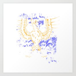 Majestic Eagle Bird Art Print