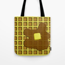 And in the mornin'? I'M MAKING WAFFLES Tote Bag