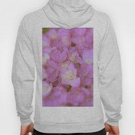 Pink Hydrangea Hoody