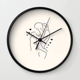 Lovers I Wall Clock
