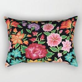 Floral Pattern from Oaxaca Rectangular Pillow
