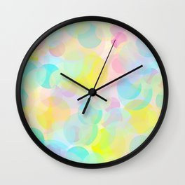 Bubble Days Wall Clock