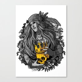 King of nothing Canvas Print