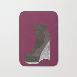 Leaf Wedge Bath Mat