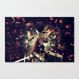 mikasa composure Canvas Print