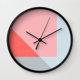 Mélange No. 2 Modern Geometric Wall Clock
