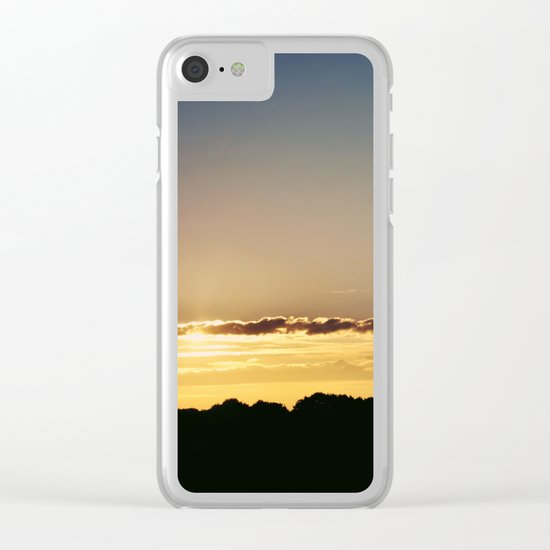 City Sunlight #3 Clear iPhone Case