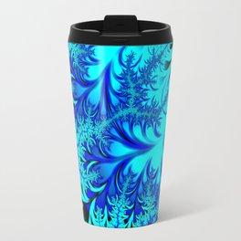 Elevated Frost - Fractal Art Travel Mug