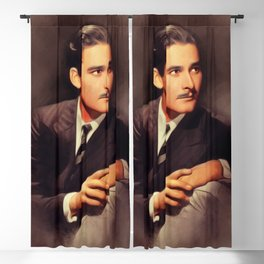 Errol Flynn, Hollywood Legend Blackout Curtain