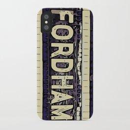 Fordham iPhone Case
