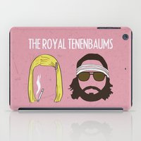 royal tenenbaums iPad Cases featuring The Royal Tenenbaums by gokce inan