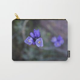 Opening Up (Blue Dicks Wildflowers) Carry-All Pouch