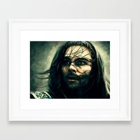 kili Framed Art Prints featuring Kili by Laura Lindsey