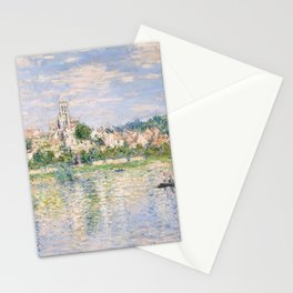 Vetheuil in Summer 1880 by Claude Monet Stationery Cards