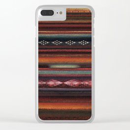 The Travellers Garment Clear iPhone Case