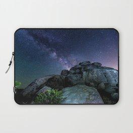 Milky Way Rock Laptop Sleeve