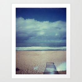 Tura Beach Art Print