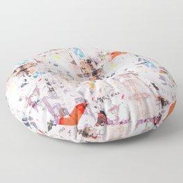 Lick wall Floor Pillow