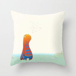 Herp Throw Pillow