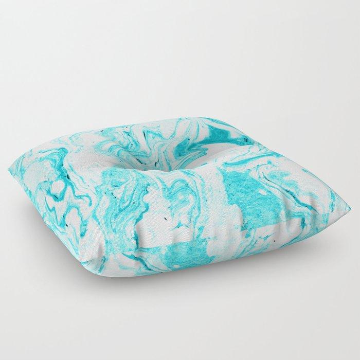 Ocean Blue Marble #society6 #decor #buyart Floor Pillow by 83oranges ...