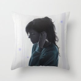 No One Said It Would Be Hard Throw Pillow