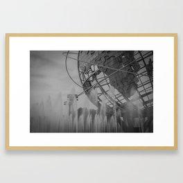 flushing... Framed Art Print
