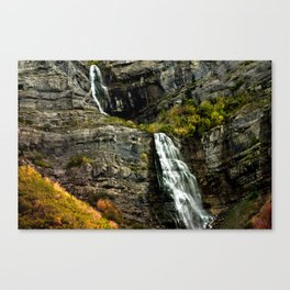 Highway Falls Canvas Print