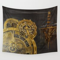 infinity Wall Tapestries featuring Infinity by Manuela Juergens