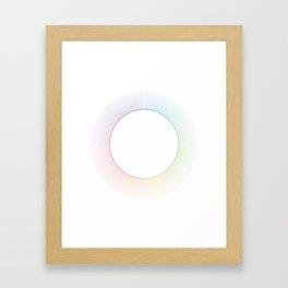 7 o'clock Framed Art Print