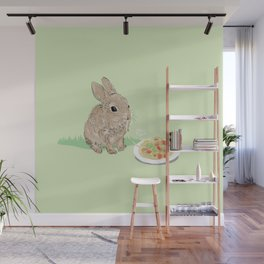 Sweet Rabbit Wall Mural