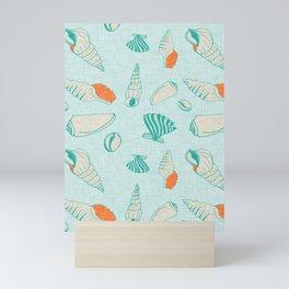 ocean sea shell  Mini Art Print