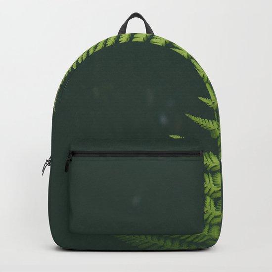 Fern Leaf Green Backpack