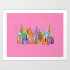 Landscape Sprouts 1 Art Print